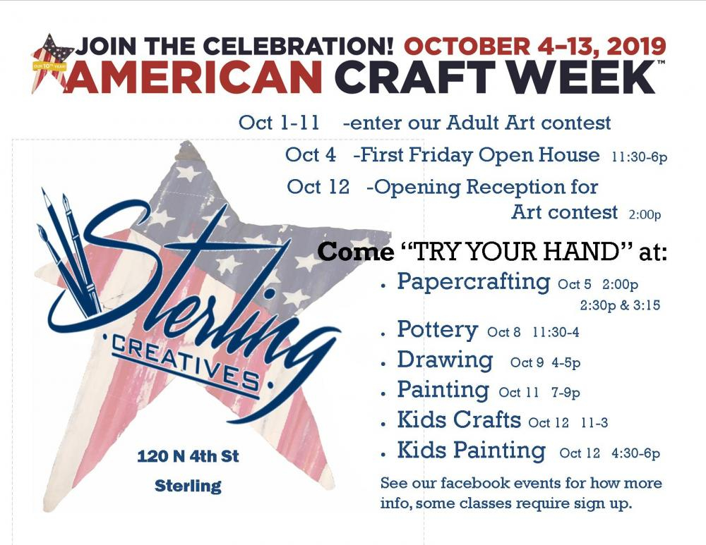 amercian craft week