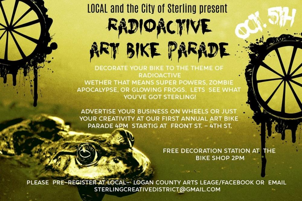 art bike parade