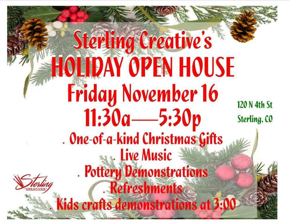 sterling creatives nov open house