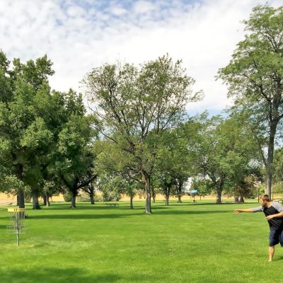 Pioneer Park Disc Golf Course