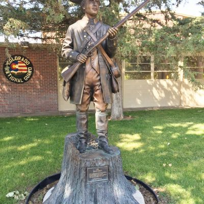 Minuteman (Wood & Bronze)